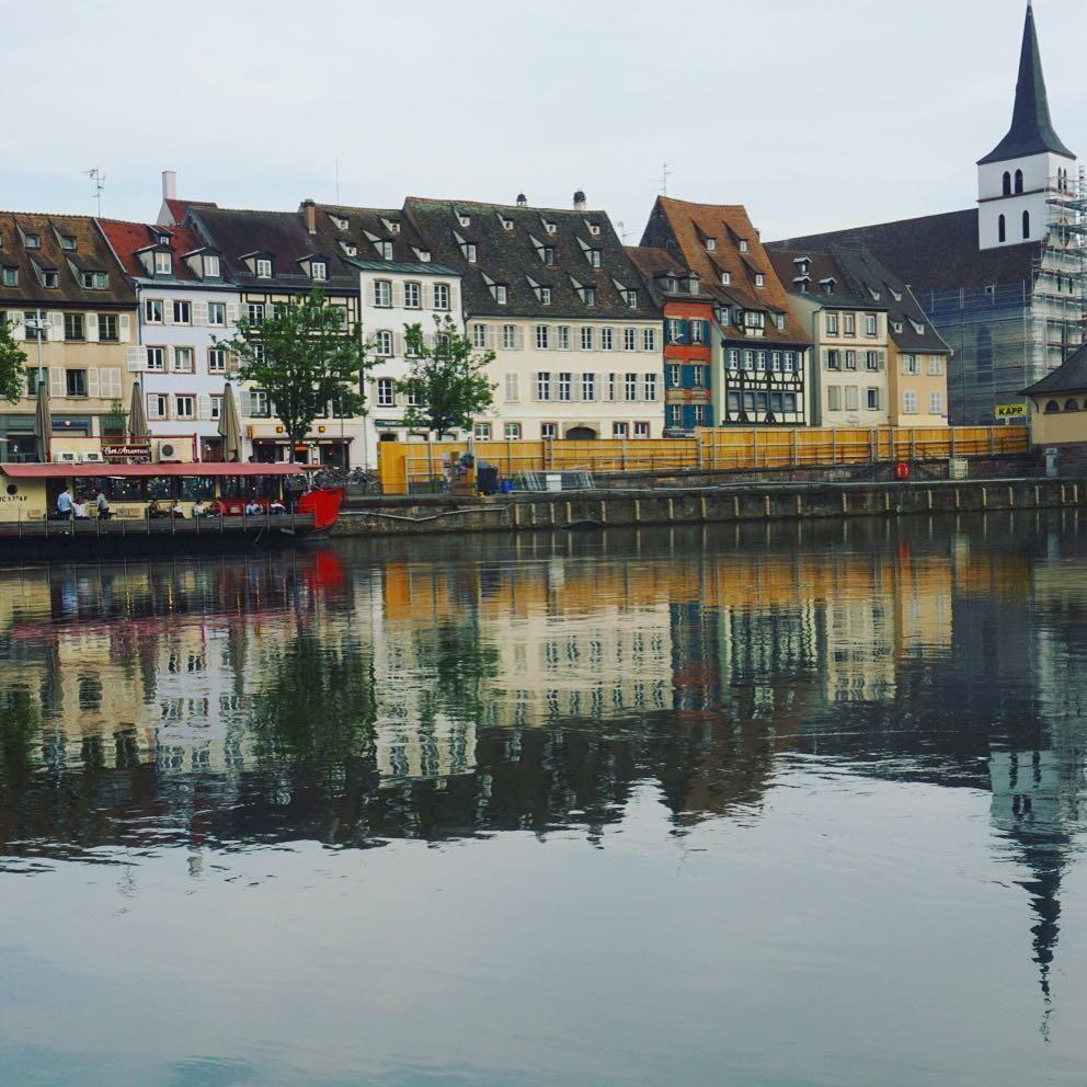 Un día en Strasbourg